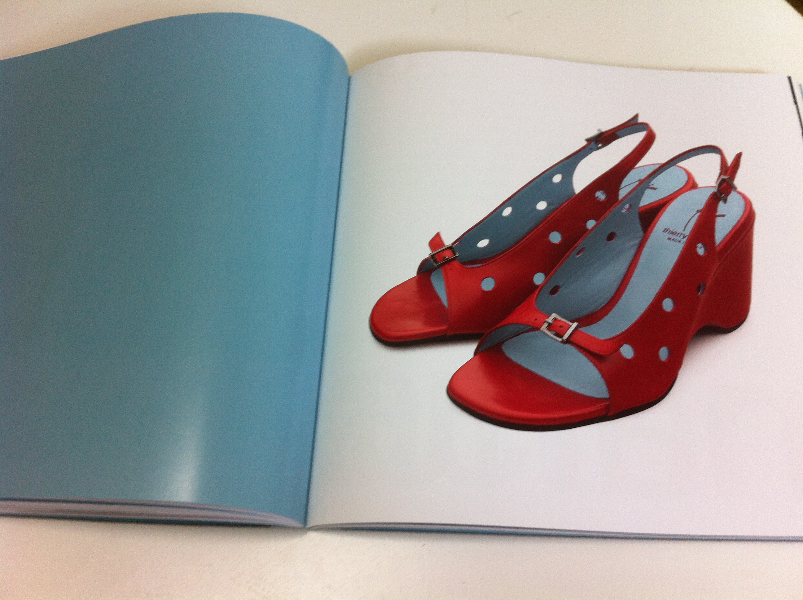 official photos a7c48 e3e41 Red shoes by Thierry Rabotin – The Writing Business